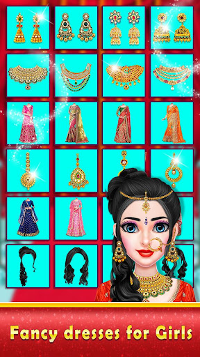 Indian Royal Wedding Doll Maker : Avatar Creator apktram screenshots 15