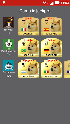 DogeFut 17 Screenshot