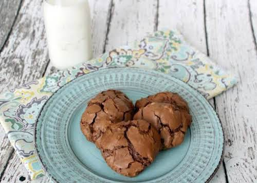 """Chewy Chocolate Cookies""""The method that Kathryn uses to melt the chocolate instead..."""