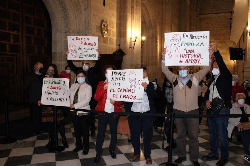 Distintas comunidades de movimientos de Acción Católica.