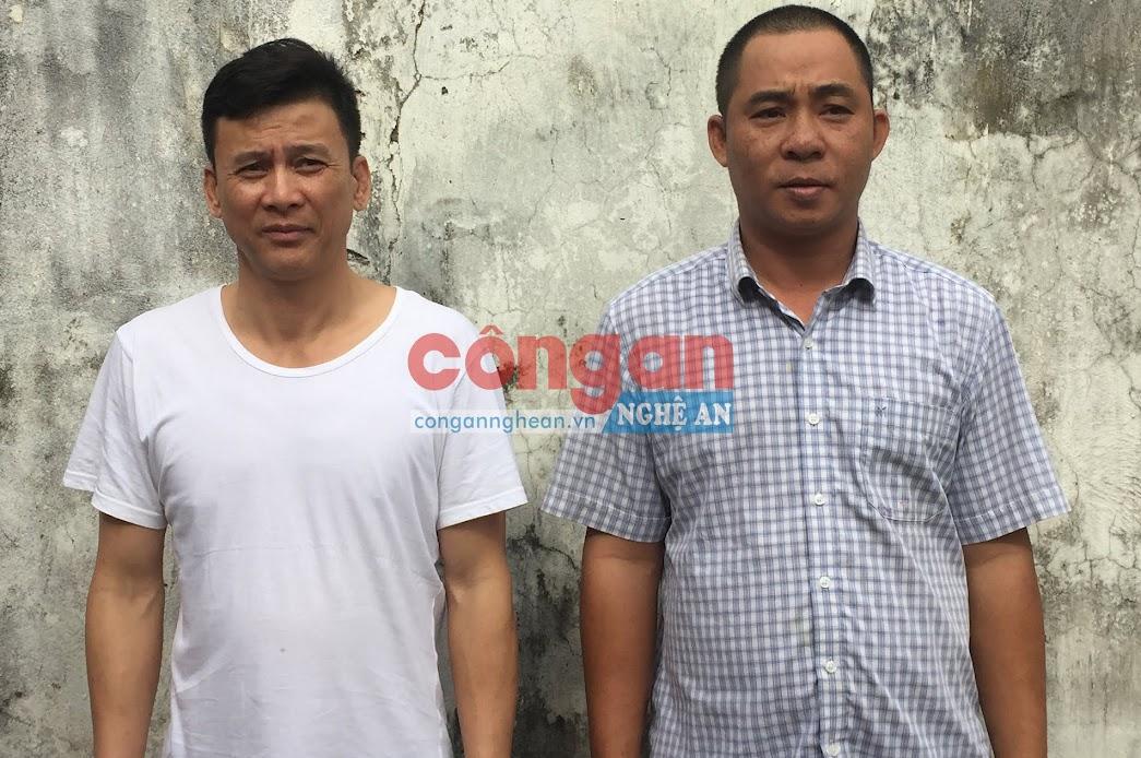 2 đối tượng Hoàng Đình Luận và Nguyễn Thanh Huy