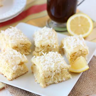 Coconut Lemon Blondies Recipe