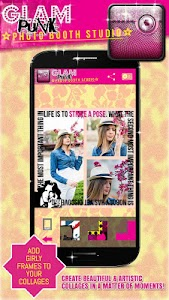 Glam Girl Photo Booth Studio screenshot 0