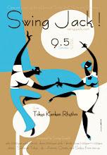 Photo: flyer design for Swing Jack ! vol.143