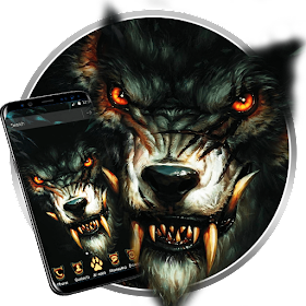 Blood Wolf King Theme Live Wallpaper Android Apps Appagg