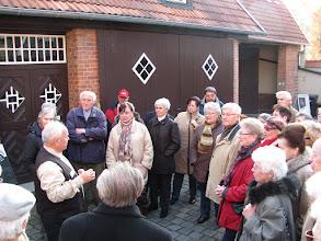 Photo: Beginn der Führung durch die Nordhäuser Traditionsbrennerei