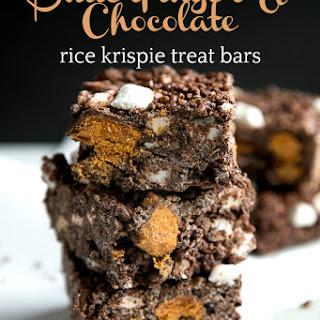 Butterfinger Chocolate Rice Krispie Treats Recipe