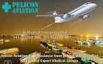 Book ICU setups Air Ambulance Service in Delhi by Pelicon Aviation