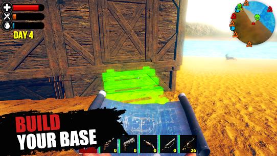 Just Survive Ark: Raft Survival Island Simulator MOD (Coins) 2
