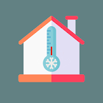 Room Temperature Thermometer (Inside, Outside) icon