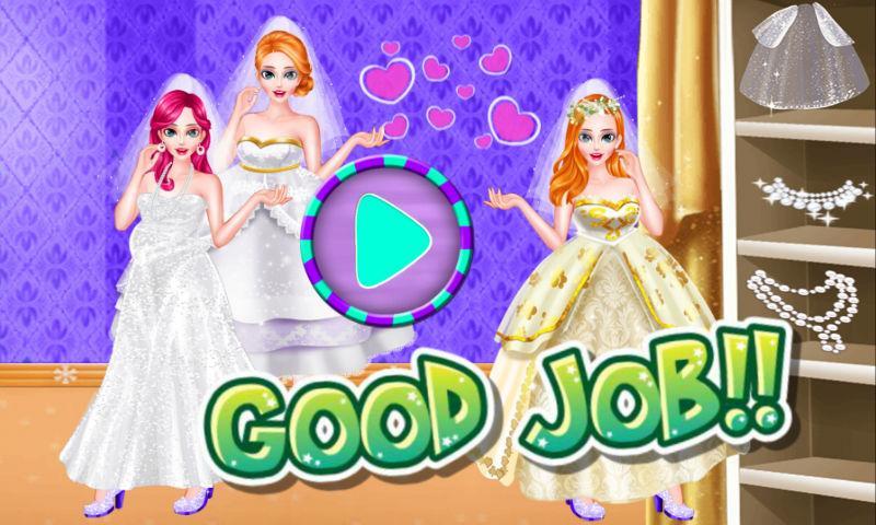 android Kleiden Sie die schönste Braut Screenshot 3