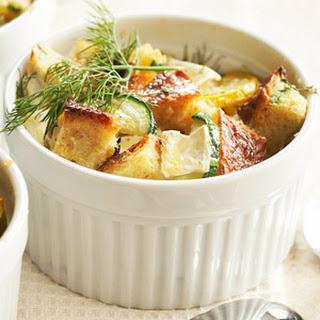 Zucchini-Brie Breakfast Casseroles