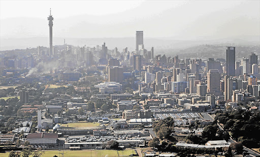 Johannesburg city. File photo.