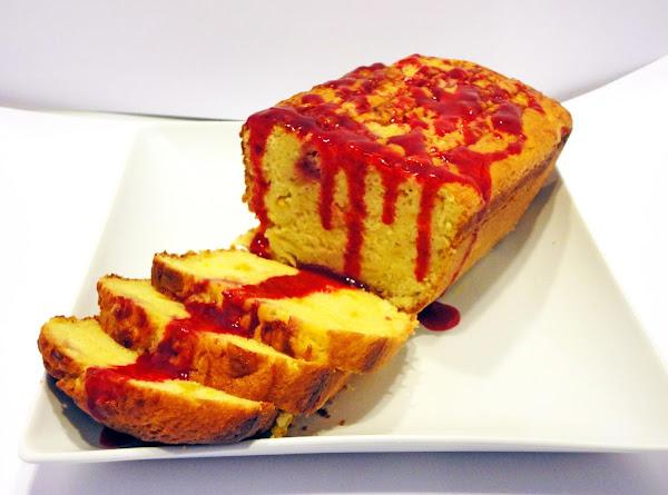 Raspberry Peach Swirl Bread Recipe