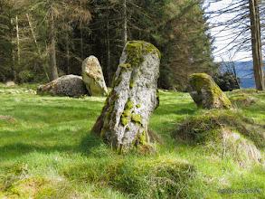 Photo: Nine Stanes Stone Circle, Mulloch Wood, Banchory