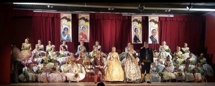 Platja Patacona tanca les presentacions falleres d'Alboraia donant a conèixer les seues representants