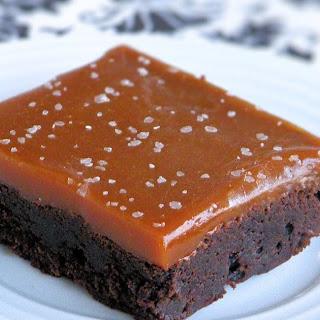 Salted Caramel Nutella Brownies