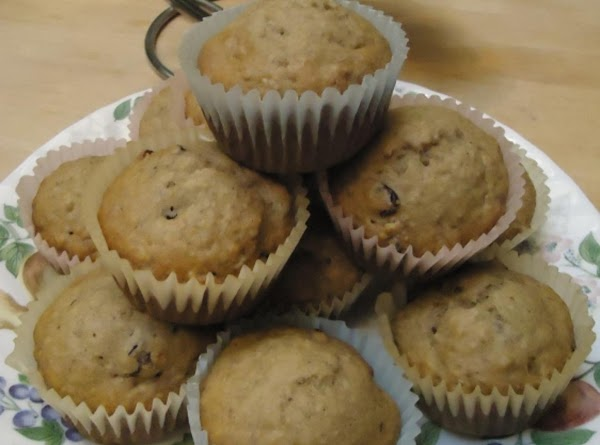 Norma's Banana/cranberry Muffins Recipe