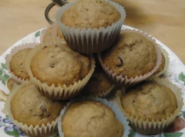 Norma's Banana/cranberry Muffins Recipe