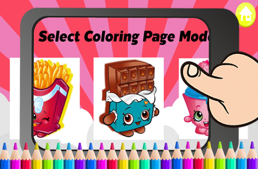 Download Art Games Shopkins Coloring Page For PC
