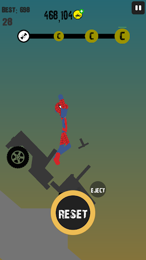 Télécharger Stickman Crash Totaly APK MOD (Astuce) screenshots 5