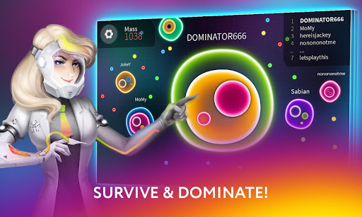 Plazmic! Battle Royale io Cell Eating Game screenshots 4