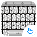Keyboard Theme Metallic Silver icon