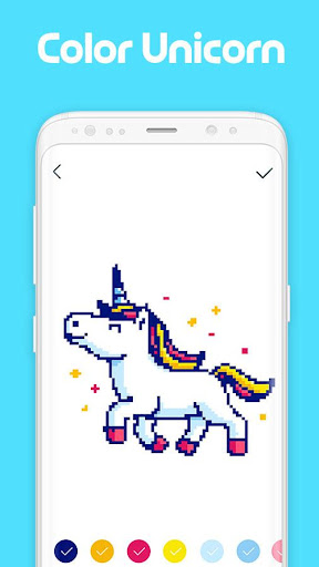 Pixel Artist: Color Number, Pixel Coloring Book 1.0.8 screenshots 2