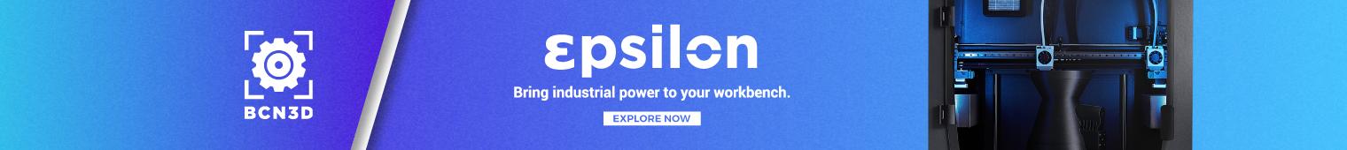 BCN3D Epsilon - Bring industrial power to your workbench.