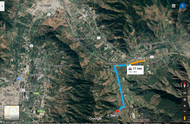 Referencias F304 Alameda Ocoa, F344 Camino El Bellotal . Enlace Google Maps:    https://goo.gl/maps/UiQ4GGVakB82