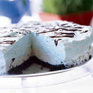 Grasshopper Ice Cream Pie.