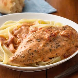 Creamy Tomato Slow-Cooker Chicken.