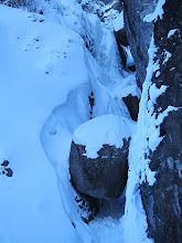 Photo: Chockstone Chimney!