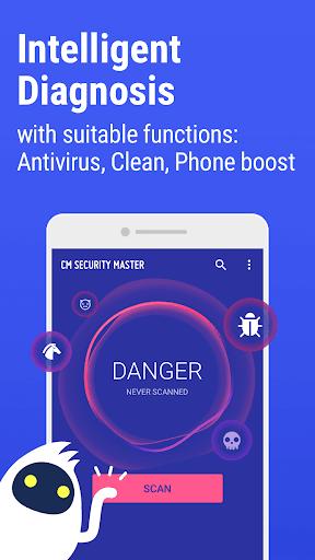 CM Security Master Antivirus screenshot 1