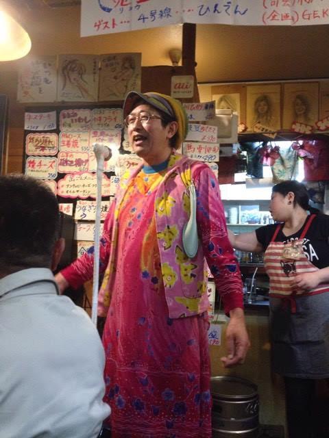 池袋・七輪焼本舗でお笑いLIVE。