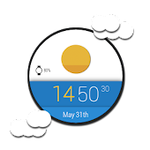 Material Sky Watch Face ☀️
