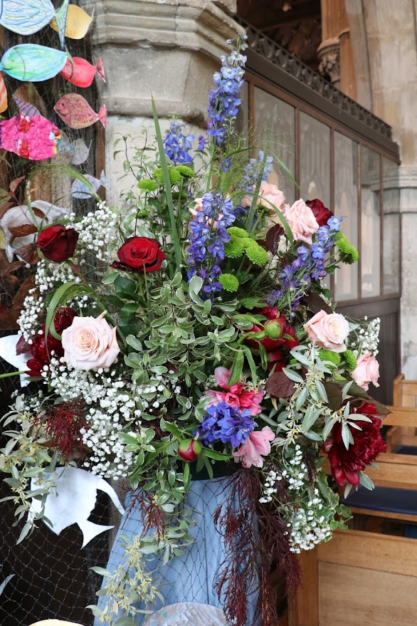 St Mildreds Church Flower Festival Tenterden