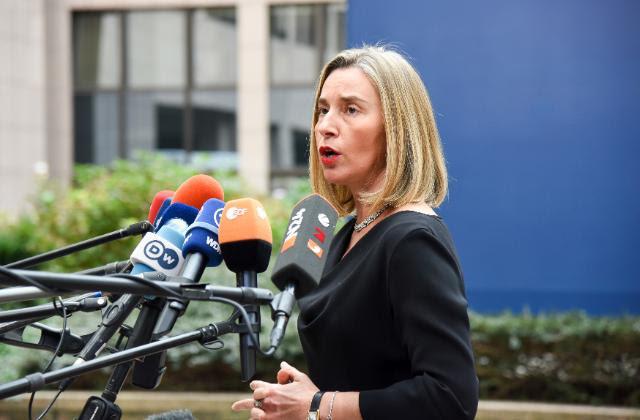 Federica Mogherini - fonte: Commissione europea