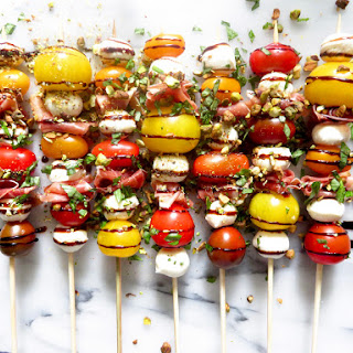 Caprese Kabobs with Prosciutto Recipe