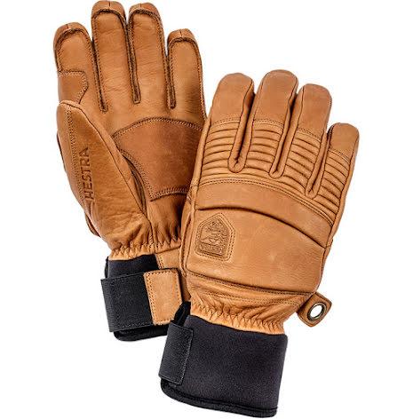 Leather Fall Line Brun 5-Fingerhandske