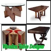 Wood Table Design