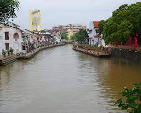 Photo: Centuries old architecture along the river