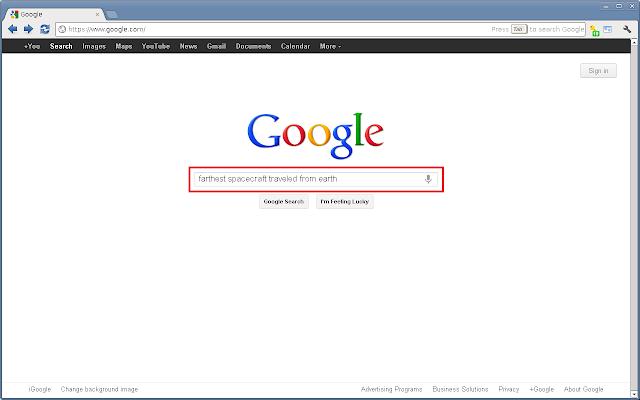 Google Quick Scroll Screenshot