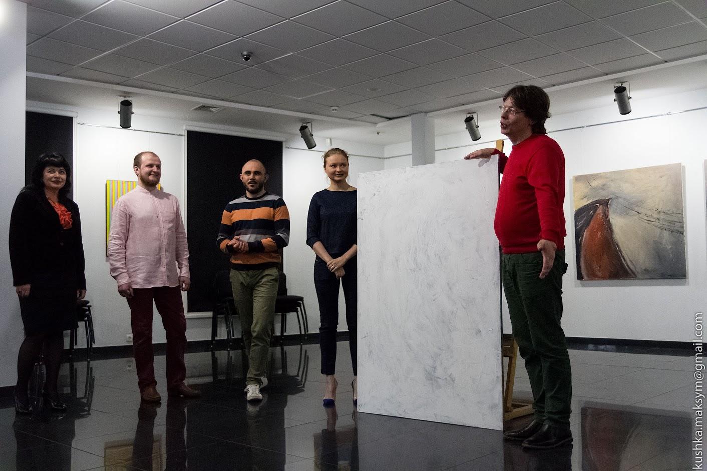Вінничани та львівські художники разом писали картину