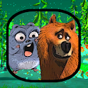 WALLPAPERS CARTOON HD: GRIZZY AND LIMMINGS icon