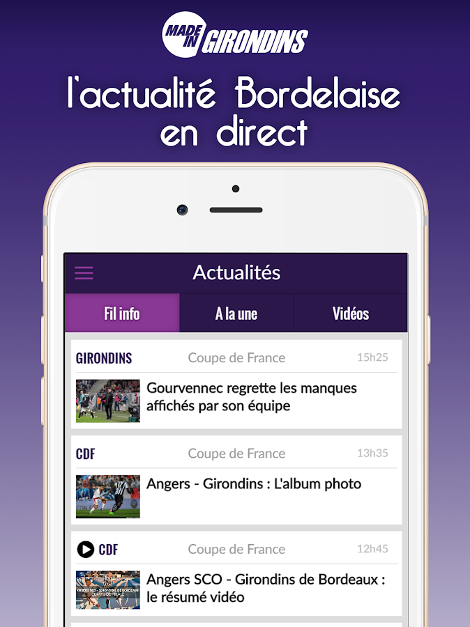Foot Bordeaux- screenshot