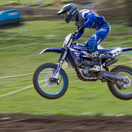 flying high by Andy Dow - Sports & Fitness Motorsports ( yamaha, sports, motocross, motor sport, motox )