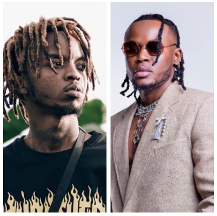 Beef between Magix Enga and Arrow Bwoy gets out of hand