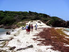 Photo: Hiking up Baradel