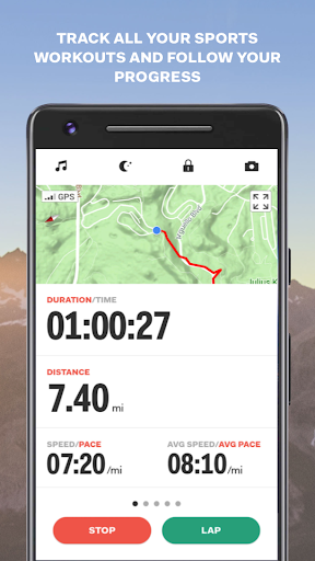 Sports Tracker screenshot 2